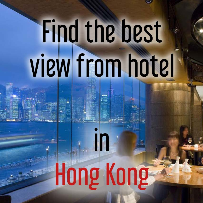 Hotels with best view in Hong Kong