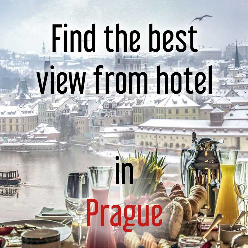 Hotels with best view in Prague